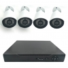 MXC DVK-202963 KIT HD DVR AHD 4 CANALES 960P + 4 CAMARAS HD AHD 720P IR 20M 3.6MM